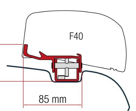 Fitting Height F40 Fiamma