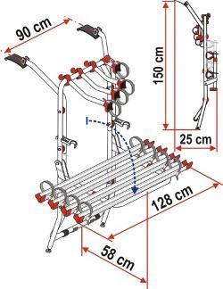 Fiamma Carry Bike Rack VW T5 - 3